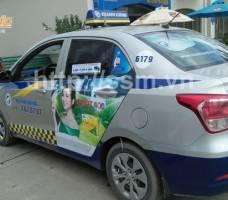 Mega quảng cáo taxi Thành Công Quảng Ninh