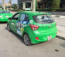 Mega quảng cáo trên taxi Mai Linh Thanh Hóa