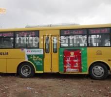 FE CREDIT quảng cáo trên xe bus Đà Nẵng