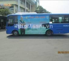 Nhựa Tiền Phong quảng cáo trên xe bus TP HCM