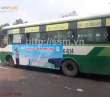 Nhựa Tiền Phong quảng cáo xe bus Bình Dương