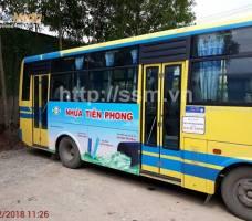 Nhựa Tiền Phong quảng cáo xe bus Quảng Nam