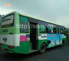 Nhựa Tiền Phong qcáo bus liên tỉnh Đồng Nai
