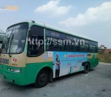 Nhựa Tiền Phong quảng cáo bus Cần Thơ
