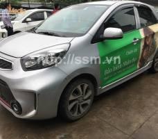 Chubb Life quảng cáo trên ô tô cá nhân Hà Nội