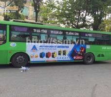 Hồng Ký quảng cáo trên xe khách toàn quốc