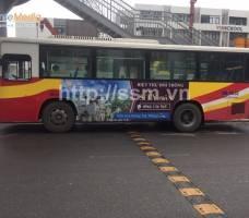 The Phoenix Garden quảng cáo trên bus Hà Nội