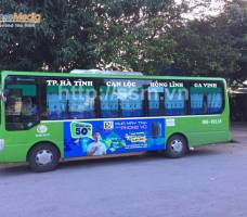 Phong Vũ quảng cáo trên xe bus Vinh & Hà Tĩnh