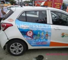 Huda quảng cáo trên Suntaxi Quảng Nam