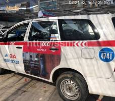 Hafele quảng cáo trên taxi Group tại Hà Nội