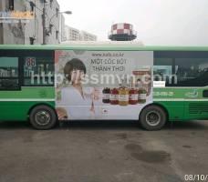 Ngũ cốc KKOH Shaem quảng cáo trên bus TP HCM