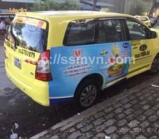 Simply quảng cáo trên taxi Tiên Sa Đà Nẵng