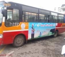 Nhựa Tiền Phong quảng cáo trên xe bus Huế