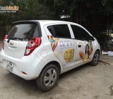 NNO Vite quảng cáo trên ô tô cá nhân Hà Nội