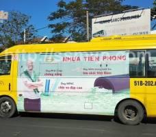 Nhựa Tiền Phong quảng cáo trên xe bus 159 HCM