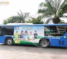 Dầu Đậu Nành Meizan quảng cáo xe bus TP HCM