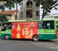Neptune Gold quảng cáo trên xe bus TP HCM
