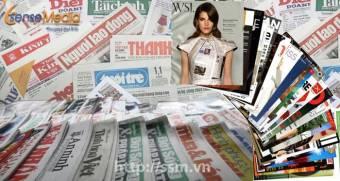 Booking quảng cáo báo giấy, tạp chí uy tín trên các đầu báo lớn