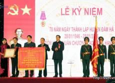 Đầm Hà kỷ niệm 70 năm thành lập và đón nhận Huân chương Lao động hạng nhất