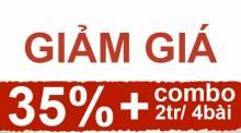 Giảm giá 35% cùng các gói combo hấp dẫn nhân dịp 30/04 – 01/05