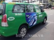 Quảng cáo trên xe taxi Mai Linh uy tín trên toàn quốc