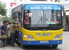 Quảng cáo trên xe bus tại TP. Nha Trang