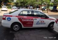 Quảng cáo trên xe taxi Group tại Kim Đồng - GAMUDA