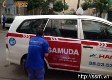 Quảng cáo trên xe taxi Group Inova - GAMUDA