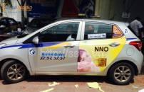 Quảng cáo trên xe taxi Thành Công chuyên nghiệp và hiệu quả
