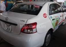 Quảng cáo trên taxi VinaSun mở rộng thị trường kinh doanh tại TP HCM