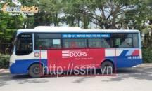 Quảng cáo xe bus tại Nha Trang cho American Doors