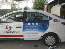 Quảng cáo trên xe taxi tại TPHCM nâng tầm nhận diện thương hiệu