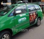 Quảng cáo trên xe taxi tại Hà Nội – Quảng cáo di động toàn thành phố
