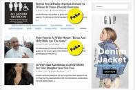 Nhiều trang tin tức giả lợi dụng lỗ hổng thu lợi quảng cáo