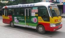 Nâng tầm thương hiệu với quảng cáo trên xe buýt tại Thái Nguyên