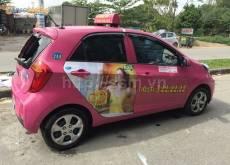 Phương pháp quảng cáo trên xe taxi tại Hải Phòng hiệu quả