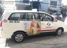 Quảng cáo trên xe taxi tại Cần Thơ: Quy mô và triển vọng