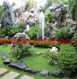 Sân vườn truyền thống theo phong thủy