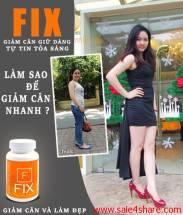 Fix giảm cân hiệu quả 3-6 kg một tháng