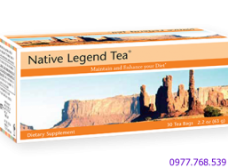 Trà thải độc gan Native Legend Tea Unicity