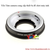 DKL Lens to Canon EOS adapter