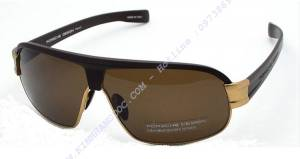 PORSCHE P8517 Gold Sunglasses