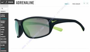 NIKE ADRENALINE EVO757 Mat Black - Flash Lime
