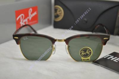 8ca29115ee KÍNH MẮT RAYBAN CLUBMASTER RB3016 - W0366 (AUTHENTIC)
