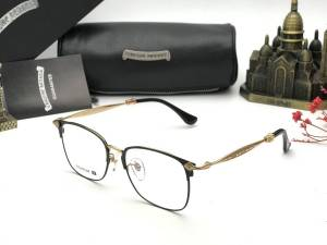 GỌNG KÍNH CẬN CHROME HEARTS TITANIUM - CHROME HEARTS STUDOR-H GOLD BLACK