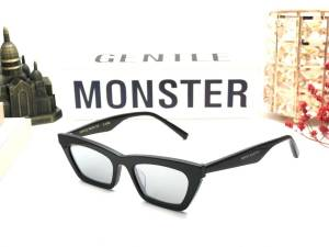 KÍNH THỜI TRANG NỮ CAO CẤP GENTLE MONSTER - GENTLE MONSTER CHAPSSAL BLACK SILVER LENS