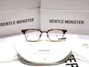 GỌNG KÍNH CẬN CAO CẤP NEW 2020 GENTLE MONSTER - GENTLE MONSTER HAVANA GOLD BROWN