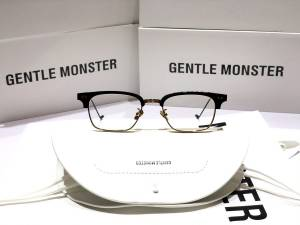 GỌNG KÍNH CẬN CAO CẤP NEW 2020 GENTLE MONSTER - GENTLE MONSTER HAVANA GOLD BLACK