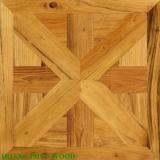 Sàn gỗ Teak Ghép Hình nghệ thuật