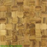 Sàn gỗ Teak Ghép Hình Caro & Hình Vuông